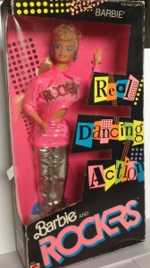 $10 Barbie and The Rockers Barbie in box.